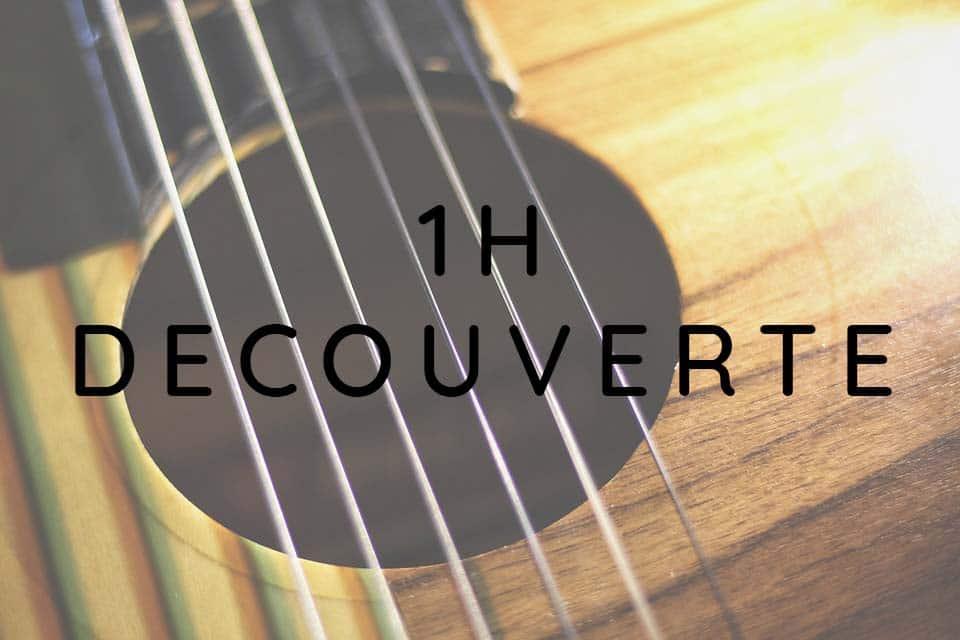 Cours De Guitare Particulier 1h Découverte