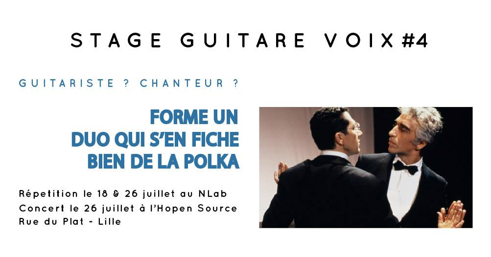lille chant guitare cours