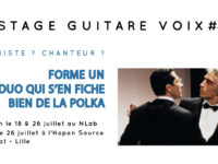 Stage Guitare Voix #1 2020