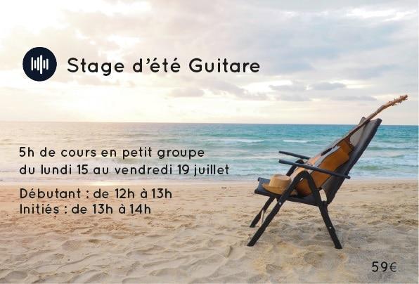 Stage lille guitare music musique apprendre
